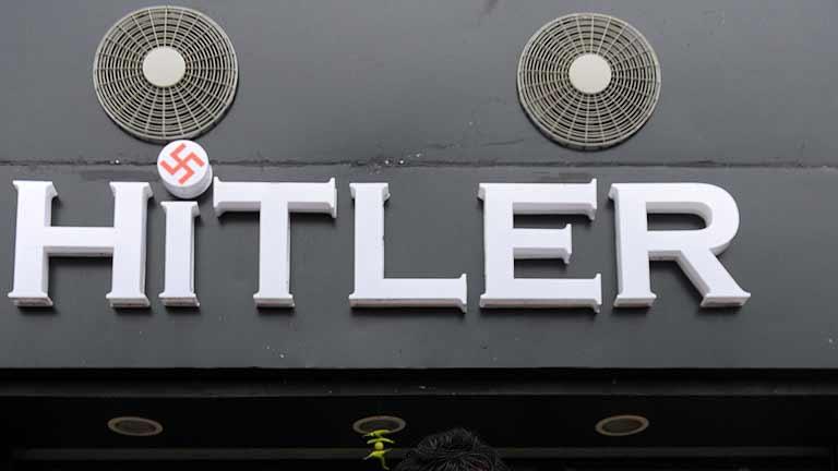 Ponen el nombre de 'Hitler' a una tienda de ropa en la India