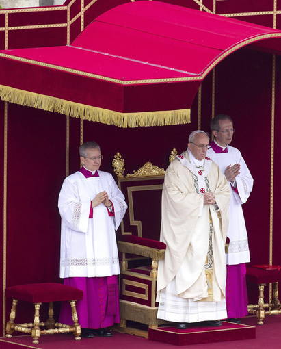 POPE: CANONIZATION MASS