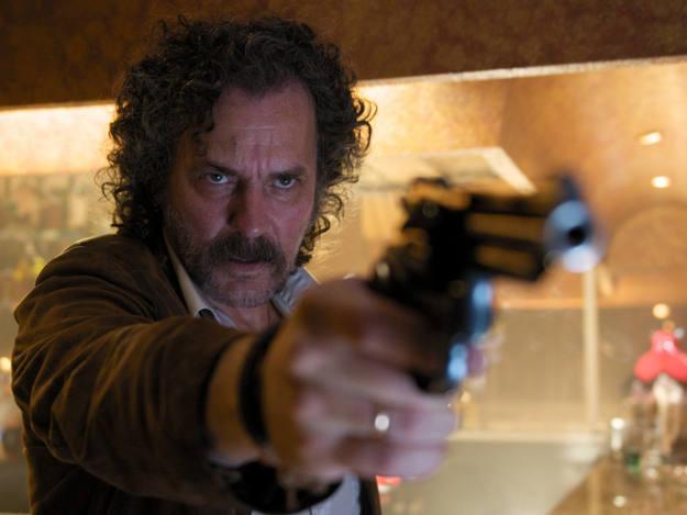 El popular actor español José Coronado es el protagonista de la nueva película de Enrique Urbizu, 'No habrá paz para los malvados', un thriller policíaco con tintes negros