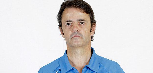 Porfirio Fisac, el entrenador del Blancos de Rueda Valladolid.