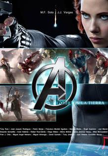 Portada de 'Avengers: Poder en la tierra', coordinado por M.F. Soto y J.J. Vargas