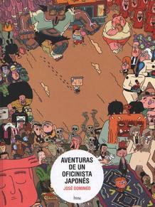 Portada de 'Aventuras de un oficinista japonés', de José Domingo