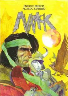 Portada de 'Avrack', de Enrique Breccia y Ricardo Barreiro