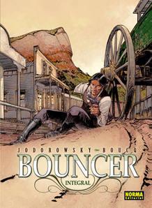 Portada de 'Bouncer', de Jodorowsky y Boucq