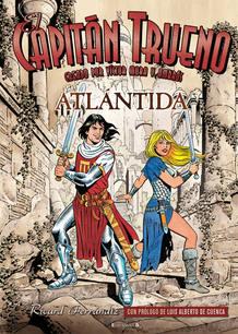 Portada de 'El Capitán Trueno: Atlántida', de Ricard Ferrándiz