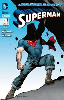 Portada del N&ordm; 1 de 'Superman', por Grant Morrison y Rags Morales