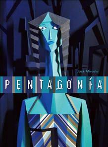 Portada del libro 'Pentagonía', de Jack Mircala