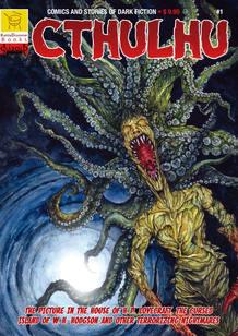 Portada del número 1 de la edición americana de 'Cthulhu'
