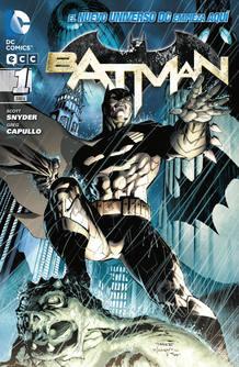 Portada del primer número de Batman de Scott Snyder y Greg Capullo