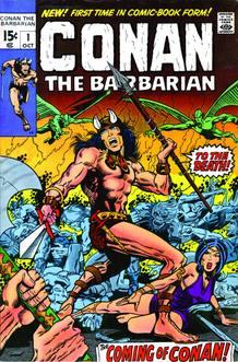 Portada del primer número de la colección de Marvel Comics