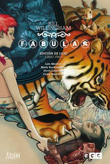 Portada del primer tomo de la edición de lujo de 'Fábulas', de Bill Willingham y Mark Buckingham