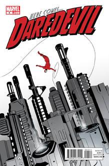 Portada de la edición americana de 'Daredevil', de Mark Waid y Marcos Martín