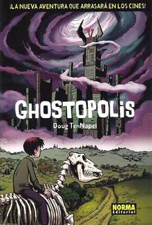 Portada de 'Ghostopolis', de Doug TenNapel