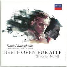 Portada de la grabación en directo de las sinfonías completas de Beethoven, testimonio del proyecto ¿Beethoven for all¿, que comenzó con una gira mundial que se inició en 2010 en el legendario Teatro C