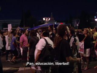Ver vídeo  'En Portada en Grecia - 27/09/11 - Manifestación en Sintagma'