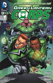 Portada de 'Green Lantern Corps', de Peter J. Tomasi y Fernando Pasarín