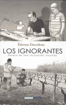 Portada de 'Los ignorantes', de Étienne Davodeau
