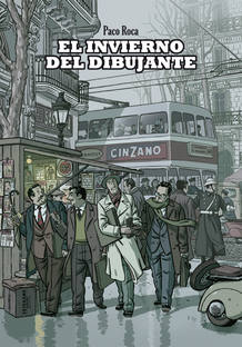 Portada de 'El invierno del dibujante', de Paco Roca