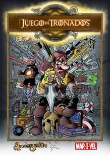 Portada de 'Juego de tronados'