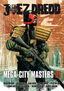 Portada de 'Juez dredd: Mega-City Masters 01'