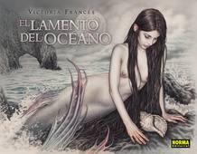 Portada de 'El lamento del océano', de Victoria Francés