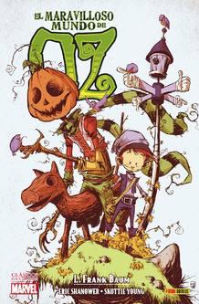 Portada de 'El maravilloso mundo de Oz', de L. Frank Baum