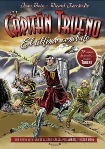 Portada de la nueva aventura de El Capitán Trueno