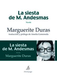 Portada de la nueva edición española de 'La siesta de M. Andesmas'