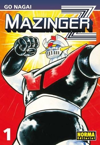 Portada de la nueva edición de 'Mazinguer Z', de Go Nagai