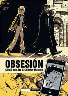 Portada de 'Obsesión', de Chloé von Arx y Charles Mason