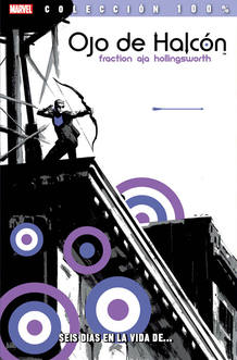 Portada de 'Ojo de Halcón', de Matt Fraction y David Aja