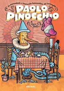 Portada de 'Paolo Pinocchio', de Lucas Varela