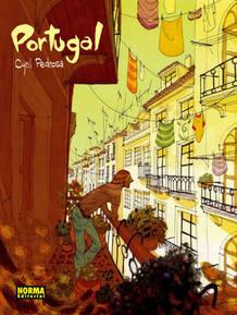 Portada de 'Portugal', de Cyril Pedrosa