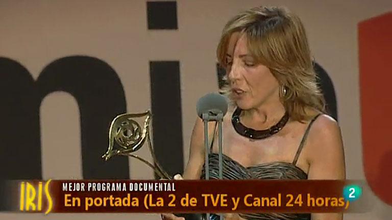 En Portada, premio IRIS al mejor programa documental