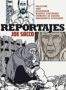 "Portada de ""Reportajes"", de Joe Sacco"