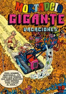 Portada de la revista Mortadelo, de Francisco Ibañez