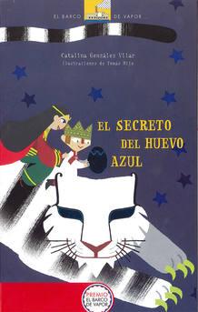 Portada de 'El secreto del huevo azul', de Catalina González Vilar y Tomás Hijo