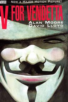 Portada de 'V de Vendetta'