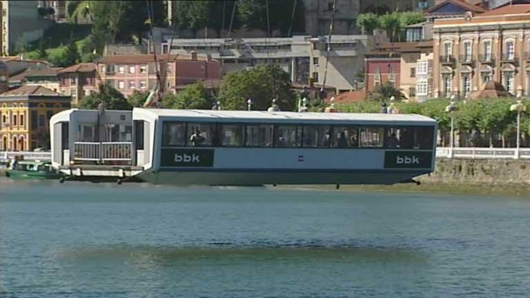 El puente colgante de Portugalete cumple 120 años