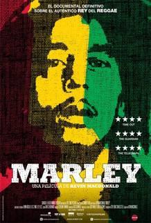 Póster Español de 'Marley', de Kevin MacDonald