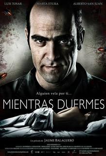 Poster de 'Mientras duermes', de Jauma Balagueró