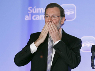 Ver vídeo  'El PP arrasa con su mayor triunfo con una mayoría absoluta de 186 diputados'