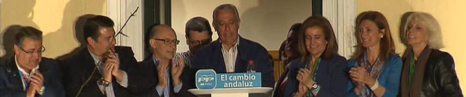 El PP gana por primera vez en Andalucía pero el PSOE salva los muebles y podrá gobernar con Izquierda Unida