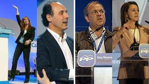 Ver vídeo  'El PP ratifica a sus líderes en CLM, Cantabria, Extremadura y Cataluña'