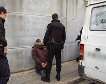 Practicando una detención