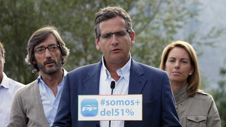 Basagoiti proclama al PP como la opci&oacute;n de centro para el Pa&iacute;s Vasco