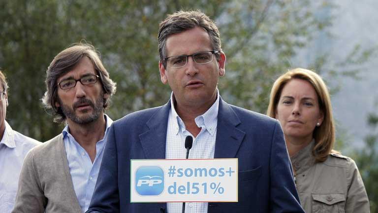 Basagoiti proclama al PP como la opción de centro para el País Vasco