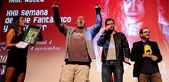 Premio del público en la semana de terror de San Sebastián