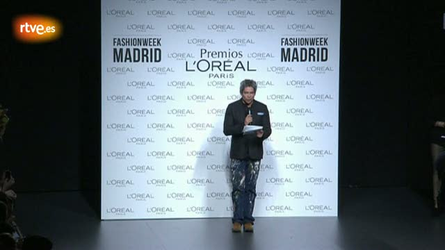 Madrid Fashion Week 2012  - Premio L'Oreal