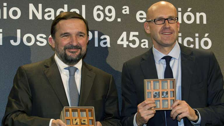 Sergio Vila-Sanju&aacute;n ganador del premio Nadal